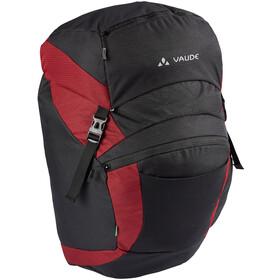 VAUDE OnTour Front Bag, czarny/czerwony